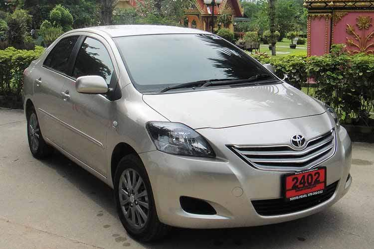 car hire phuket Toyota vios large